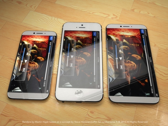 Martin Hajek's concepts of an iPhone 6, or beyond