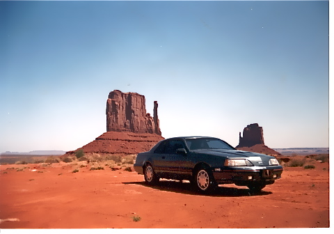 Monument Valley T-Bird 1-22-92